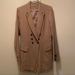 Brown Blazer by Beulah